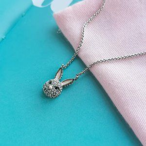 Make Magic Rabbit Mini Pendant Necklace + dust bag
